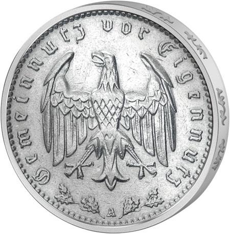münzen deutsches reich hindenburg